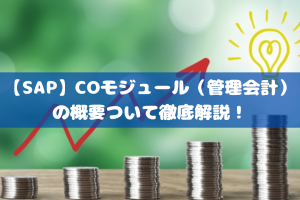 【SAP】COモジュール(管理会計)の概要ついて徹底解説!