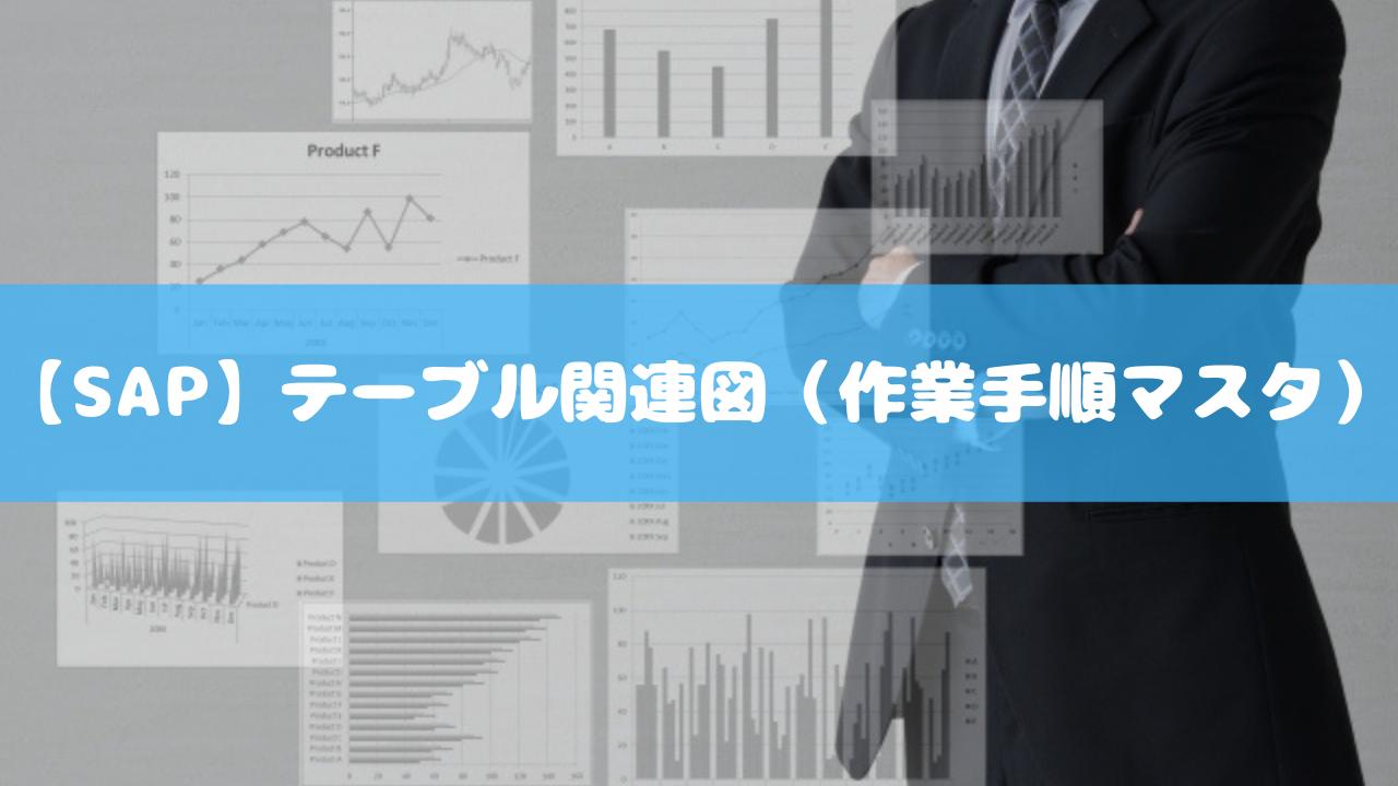【SAP】テーブル関連図(作業手順マスタ)