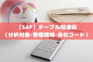 【SAP】テーブル関連図(分析対象-管理領域-会社コード)